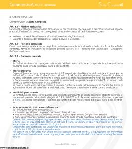 Aurora - Commercio Aurora Infortuni - Modello u7614a-5 Edizione 02-2008 [8P]
