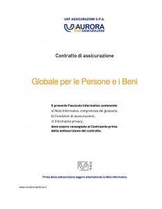Aurora - Globale Per Persone E Beni - Modello u7099 Edizione 02-2011 [36P]