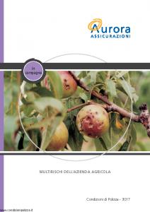 Aurora - In Campagna Multirischi Dell'Azienda Agricola - Modello u3017a Edizione 01-12-2005 [28P]