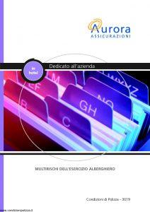 Aurora - In Hotel Multirischi Dell'Esercizio Alberghiero - Modello U3019A Edizione 04-2004 [22P]