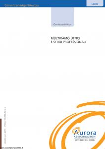 Aurora - Multiramo Uffici E Studi Professionali - Modello 30501 Edizione 12-2006 [46P]
