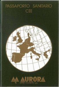 Aurora - Passaporto Sanitario Cee - Modello 3420-01 Edizione 05-1988 [SCAN] [23P]