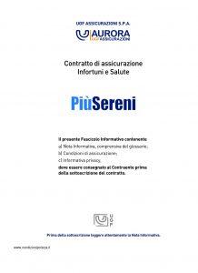 Aurora - Piu' Sereni Assicurazione Infortuni E Salute - Modello u1201a Edizione 03-2011 [74P]