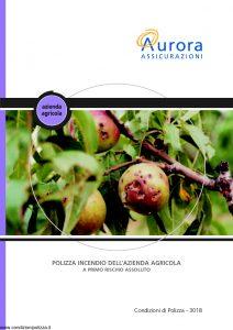 Aurora - Polizza Incendio Dell'Azienda Agricola - Modello u3018a Edizione 12-2005 [19P]