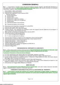 Aurora - Polizza Italiana Assicurazione Merci Trasportate - Modello u-cg83 Edizione 04-2011 [9P]