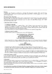 Aurora - Polizza Responsabilita' Civile Rischi Diversi - Modello u2001a Edizione 01-06-2006 [27P]