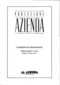 Aurora - Protezione Azienda - Modello 5323 Edizione 04-1995 [SCAN] [18P]