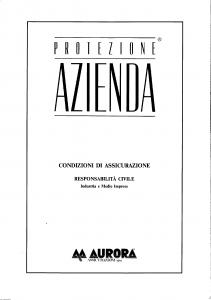 Aurora - Protezione Azienda - Modello 5324 Edizione 05-1992 [SCAN] [21P]