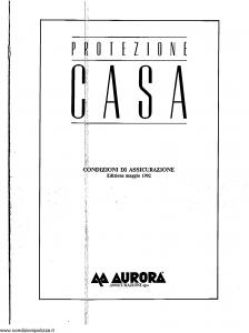 Aurora - Protezione Casa - Modello nd Edizione 05-1992 [SCAN] [6P]