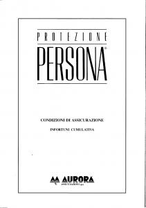 Aurora - Protezione Persona - Modello 5026 Edizione 04-1993 [SCAN] [38P]
