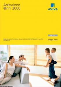 Aviva - Abitazione Anni 2000 - Modello 13501 Edizione 03-2010 [36P]