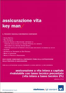 Axa - Assicurazione Vita Key Man - Modello 4745 Edizione 31-05-2012 [52P]