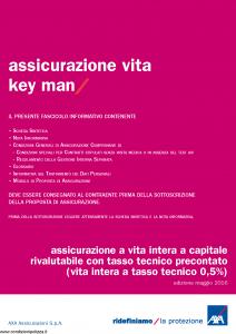 Axa - Assicurazione Vita Key Man - Modello 4808 Edizione 05-2016 [42P]