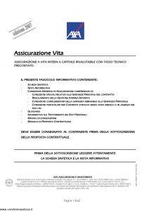 Axa - Assicurazione Vita - Modello 4524 Edizione 31-03-2007 [62P]