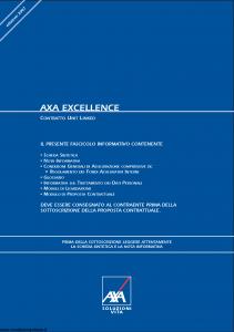 Axa - Axa Excellence - Modello asv001 Edizione 03-2007 [72P]