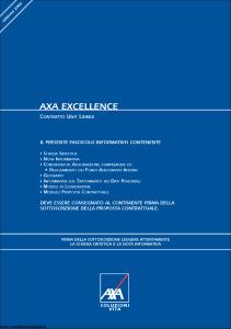 Axa - Axa Excellence - Modello asv001 Edizione 06-2006 [68P]