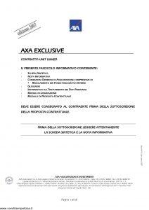 Axa - Axa Exclusive - Modello 4579 Edizione 03-2007 [60P]