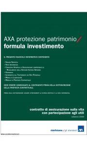 Axa - Axa Protezione Patrimonio Formula Investimento - Modello 4737 Edizione 31-03-2009 [46P]