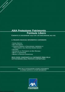 Axa - Axa Protezione Patrimonio Formula Libero - Modello 4735 Edizione 15-04-2008 [42P]