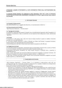 Axa - Axa Protezione Patrimonio Formula Libero - Modello 4735 Edizione 30-09-2009 [46P]