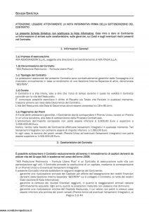 Axa - Axa Protezione Patrimonio Formula Libero Plus - Modello 4741 Edizione 31-03-2009 [46P]