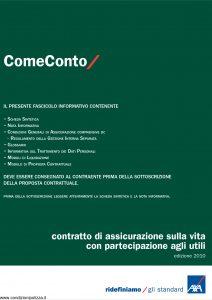 Axa - Come Conto - Modello 4758 Edizione 07-01-2010 [50P]