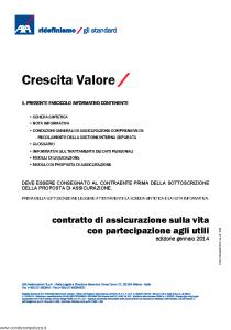 Axa - Crescita Valore - Modello 4770 Edizione 30-01-2014 [39P]