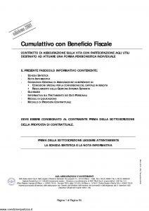 Axa - Cumulattivo Con Beneficio Fiscale - Modello 4575 Edizione 30-11-2005 [50P]