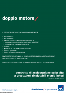 Axa - Doppio Motore - Modello 4799 Edizione 10-2015 [66P]