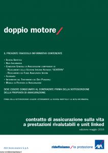 Axa - Doppio Motore - Modello 4811 Edizione 05-2016 [72P]