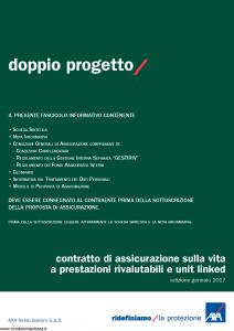 Axa - Doppio Progetto - Modello 4813 Edizione 31-01-2017 [64P]