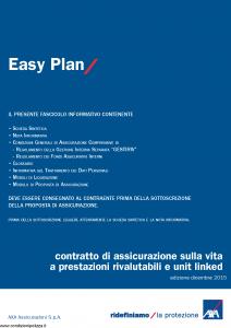 Axa - Easy Plan - Modello 4774 Edizione 12-2015 [66P]