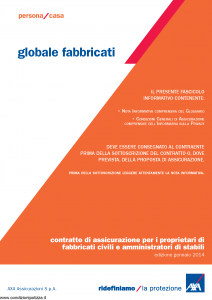Axa - Globale Fabbricati - Modello 2308 Edizione 01-2014 [55P]