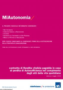 Axa - Miautonomia - Modello 4773 Edizione 31-01-2017 [30P]