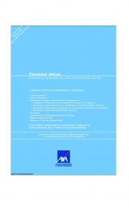 Axa - Pensione Attiva - Modello 4527 Edizione 31-03-2007 [64P]