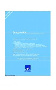 Axa - Pensione Attiva - Modello 4527 Edizione 31-03-2008 [66P]