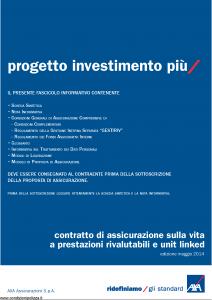 Axa - Progetto Investimento Piu' - Modello 4792 Edizione 30-05-2014 [74P]
