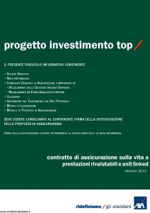 Axa - Progetto Investimento Top - Modello 4655 Edizione 31-05-2012 [66P]