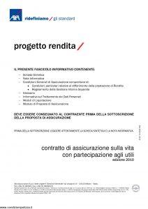 Axa - Progetto Rendita - Modello 4624 Edizione 2010 [38P]