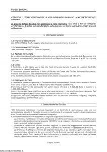 Axa - Protezione Patrimonio Formula Deposito - Modello 4736 Edizione 30-09-2009 [46P]
