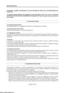 Axa - Protezione Patrimonio Formula Investimento - Modello 4737 Edizione 30-09-2009 [46P]