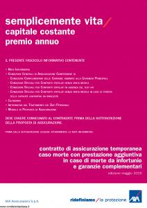 Axa - Semplicemente Vita - Modello 4807 Edizione 31-01-2017 [39P]