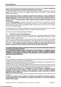 Axa - Semplicemente Vita Piu' Capitale Decrescente - Modello 4789 Edizione 08-08-2013 [28P]