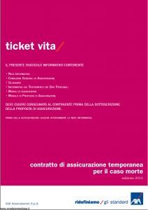 Axa - Ticket Vita - Modello 4728 Edizione 12-2011 [28P]