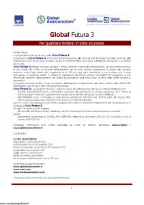 Axa Interlife - Global Futura 3 - Modello axa int 100 Edizione 11-2004 [22P]