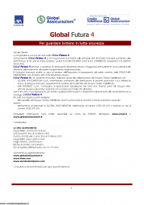 Axa Interlife - Global Futura 4 - Modello axa int 101 Edizione 02-2005 [21P]