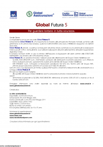 Axa Interlife - Global Futura 5 - Modello axa int 102 Edizione 04-2005 [21P]