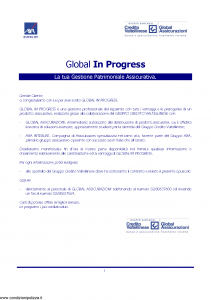 Axa Interlife - Global In Progress - Modello axa int 075 Edizione 05-2004 [45P]