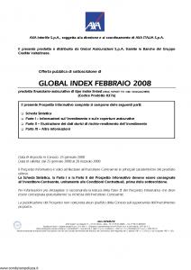 Axa Interlife - Global Index Febbraio 2008 - Modello axa int 141 Edizione 25-01-2008 [52P]