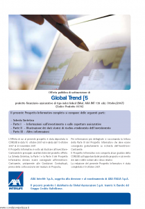 Axa Interlife - Global Trend 5 - Modello axa int 139 Edizione 10-2007 [57P]
